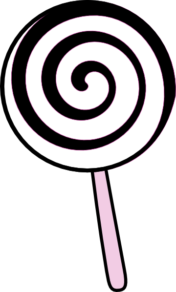 download this image as - Lollipop Coloring Pages Printable