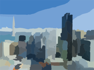 San Francisco Skyline Clip Art