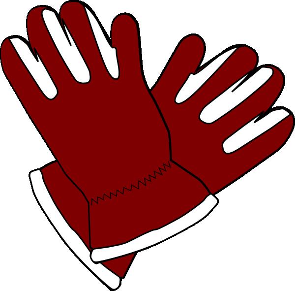 Red Gloves Clip Art at Clker.com - vector clip art online, royalty ...