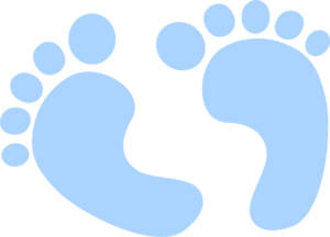 baby feet blue clip art at clker com vector clip art online rh clker com baby stuff clipart png baby girl stuff clipart