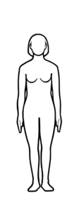 Female Figure Outline Clip Art