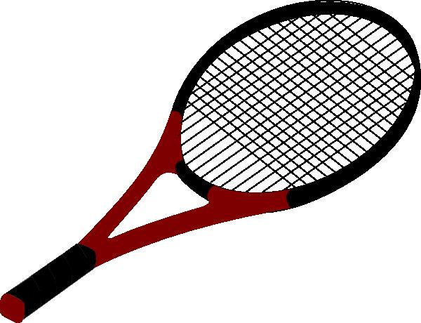 Table tennis racket png - Red Tennis Racquet Clip Art At Clker Com Vector Clip Art