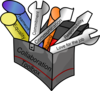 Collaboration Toolbox Clip Art