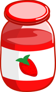 Strawberry Jam Clip Art