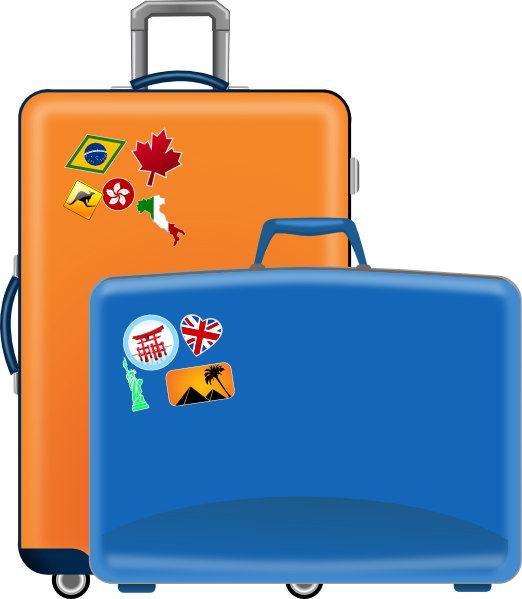 luggage clip art at clker com vector clip art online royalty free rh clker com luggage clip art free luggage bag clipart