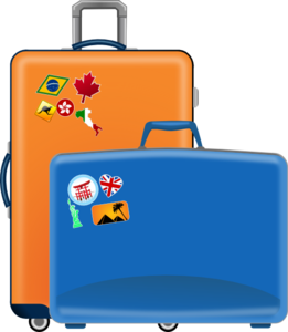 luggage clip art at clker com vector clip art online royalty free rh clker com clipart open suitcase clipart open suitcase