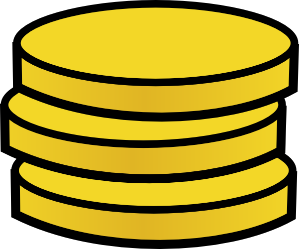 three small coins clip art at clker com vector clip art online rh clker com chinese gold coin clipart chinese gold coin clipart
