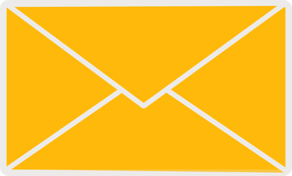 Image result for mail yellow png