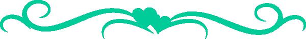 Teal Heart2 Clip Art at Clker.com - vector clip art online ...