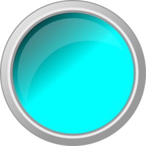 Push Button Light Blue Clip Art
