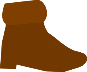 Brown Boot Clip Art