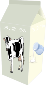 Box Of Milk Clip Art