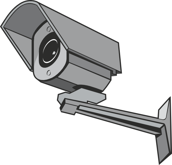 Surveillance Camera Clip Art at Clker.com - vector clip art online ...: www.clker.com/clipart-surveillance-camera.html