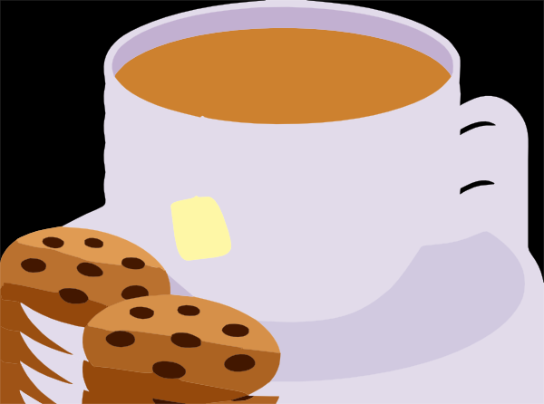 Image result for tea and cookies clipart