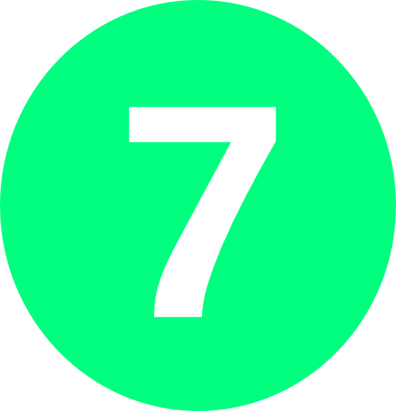 Number 7, Round...