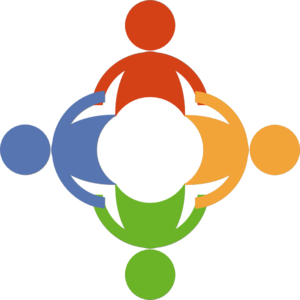 People Holding Hands In A Circle Clip Art