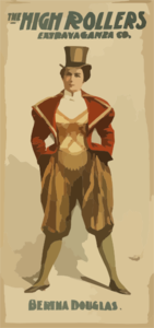 The High Rollers Extravaganza Co. Clip Art