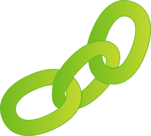 Green Chain (no Outline) Clip Art