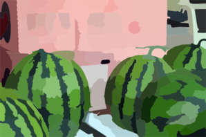 Japanese Watermelon Clip Art