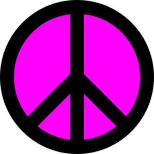 Kim Peace Sign For Allison Clip Art