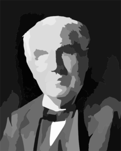 Thomas Edison Crop Clip Art