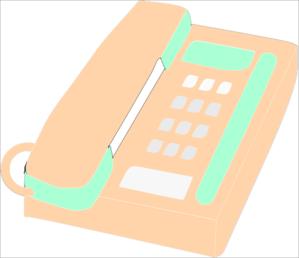 Cord Phone Clip Art at Clker.com - vector clip art online ...