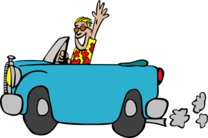 Bobcar On The Go Clip Art