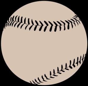 baseball ball clip art at clker com vector clip art online rh clker com baseball bat and ball clipart baseball player hitting ball clipart