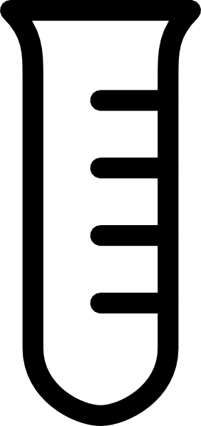 Empty Clear Test Tube Clip Art at Clker.com - vector clip ...