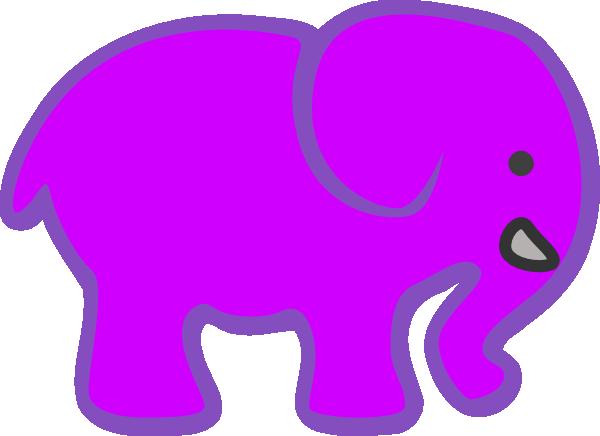 clip art pink elephant - photo #27