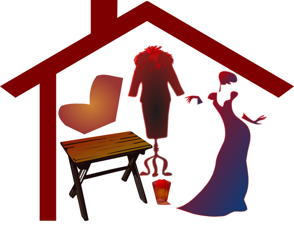 free house roof clip art - photo #38