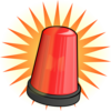 Orange Light Alarm Clip Art