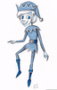 Jack Frost Cartoon Clipart Image