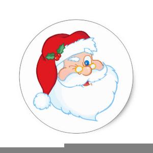 winking santa clipart free images at clker com vector clip art rh clker com santa elves clipart free santa clip art free images