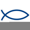 Christian Clipart Fish Symbol Image