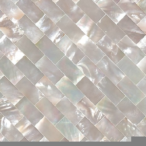 Pearl Glass Mosaic Image