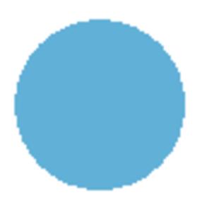 Blue Dot Free Images At Clker Com Vector Clip Art