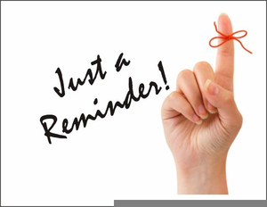 Just A Reminder Clipart | Free Images at Clker.com ...