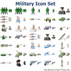 Military Icon Set Image