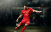 Kick Cristiano Ronaldo Wallpaper Background Image