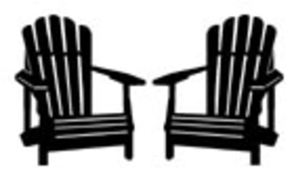 adirondack chair silhouette clipart