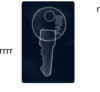 Key Pass X-ray Clip Art
