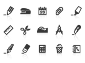 0008 Office Supply Icons Xs Image