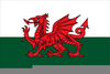 Free Welsh Flag Clipart Image