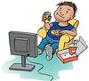 Free Clipart Of Couch Potato Image