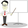 Training Classroom Clipart Image