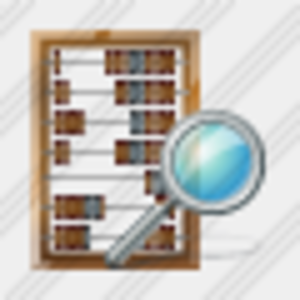 Icon Abacus Search Image