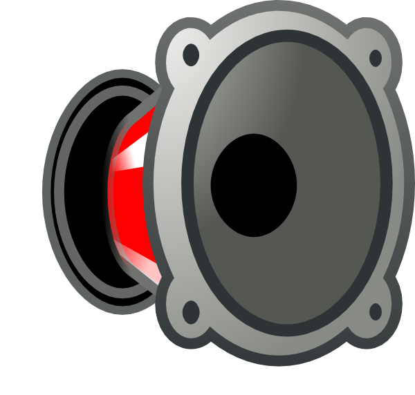 Gallery For > Car Speakers Clipart