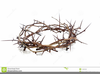 Cross Of Thorns Clipart Image