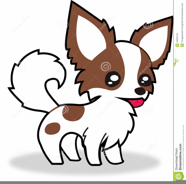 long haired chihuahua clipart free images at clker com vector rh clker com chihuahua clipart black and white chihuahua birthday clipart